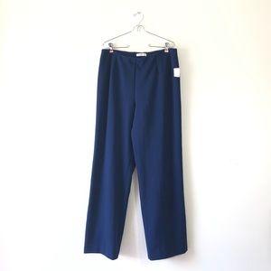COLDWATER CREEK #31 16 ponte pant blue NWT slacks